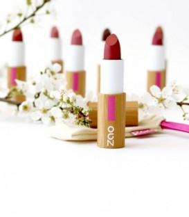 Rouge à lèvres Bio rechargeable Zao Make up