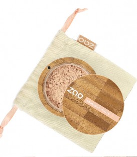 Fond de teint poudre Bio, naturel, rechargeable Zao make up