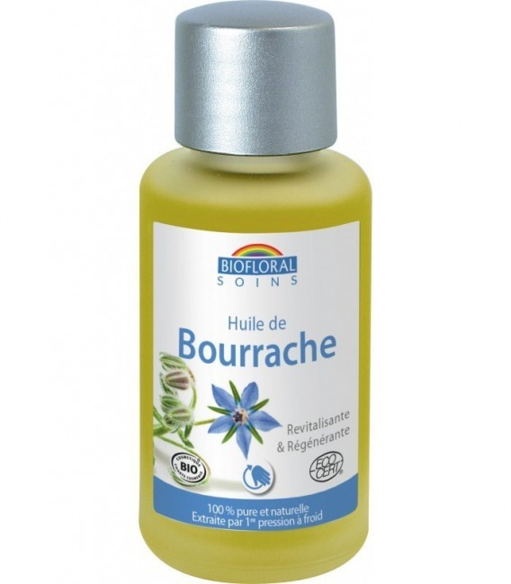 huile vegetale de Bourrache Bio 50ml Biofloral