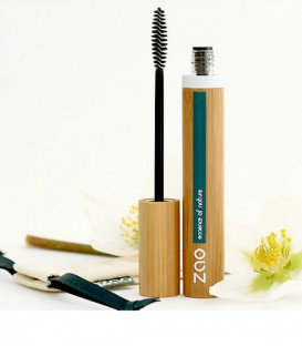 "Mascara rechargeable Bio Volume et gainage ""Zao make up"""