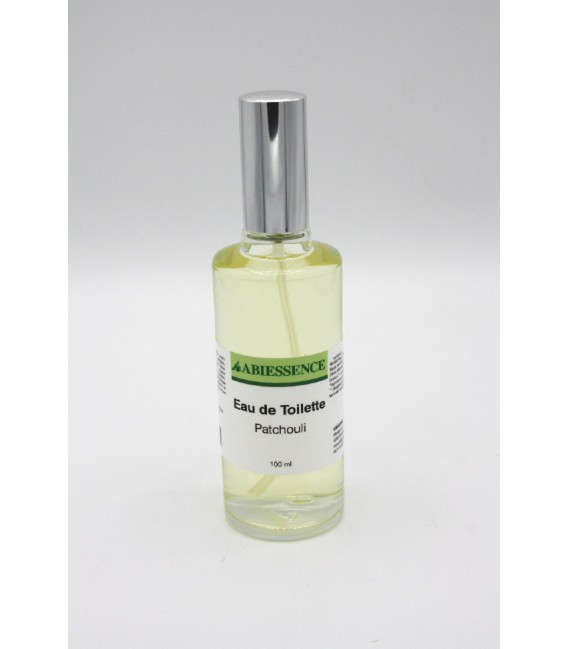 Eau de toilette naturelle Patchouli 100ml
