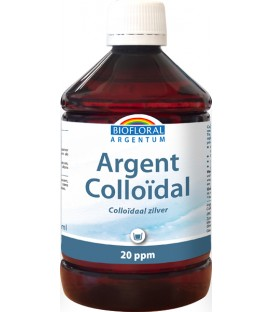 Argent Colloïdal 20 PPM flacon 500ml