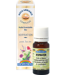 Huile d'ambiance respiration bio 10ml