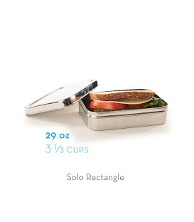 BOITE inox Ecolunchbox Solo Rectangle