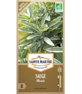 "Semences poatgères reproductibles Bio ""Sauge Officinale"""