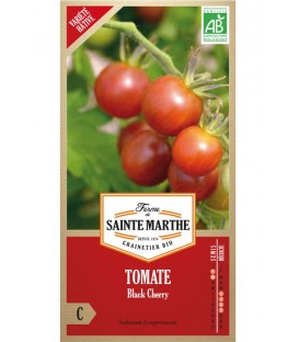 "Semences ""Tomate black cherry"" Bio"
